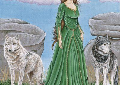 La dame aux loups